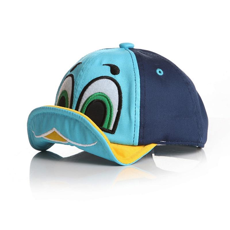 017fdeadfdfe8 Cute Duck Design Kids Caps (4 Variations)