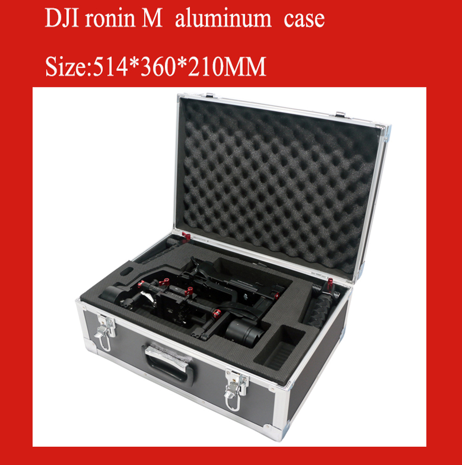 DJI ronin M case aluminum protective box impact resistant protective case with custom EVA lining special custom for roinin m
