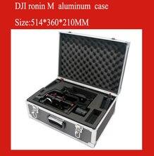 DJI Ронин м алюминиевый корпус защитный бокс ударопрочный защитный чехол с пользовательской EVA подкладка особые для roinin m