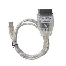 2017 fabrik Großhandel Hohe Qualität SMPS MPPS V13.02 CAN Flasher Chiptuning ECU Remap OBD2 Berufsdiagnose Kabel Neueste