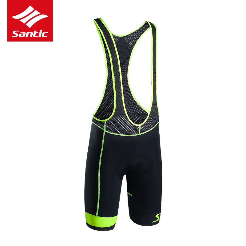Santic Men Cycling Bib Shorts 2019 Summer  4D Italian CushionShorts - Cycling - Photo 3