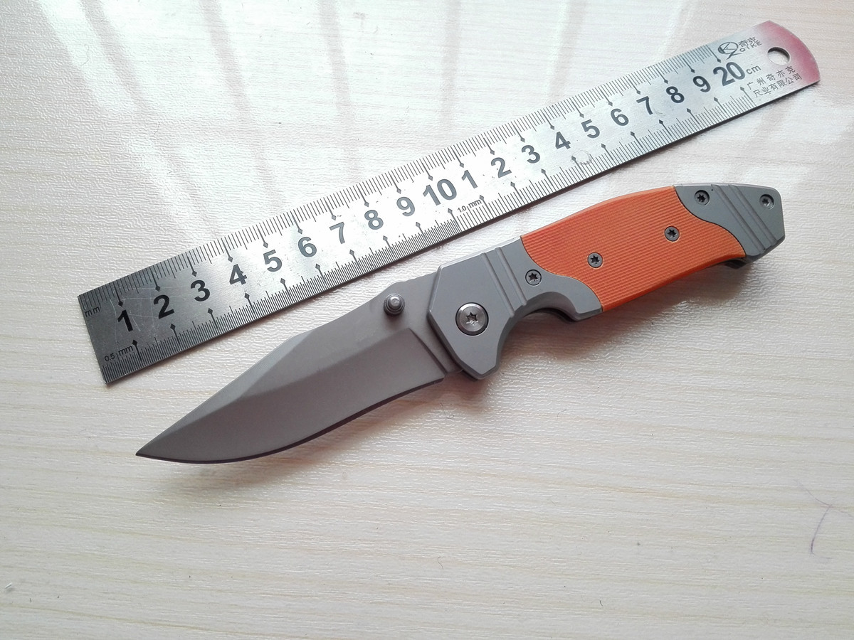 Multifunctional Stainless Steel Folding Blade font b Tactical b font Hunting font b Knife b font