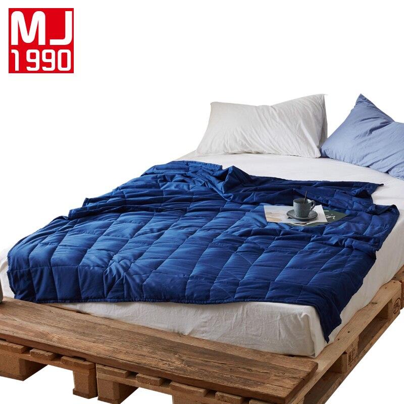 Novo Produto Ponderada Cobertor Ponderada de Liberar O Estresse Aliviar A Ansiedade Melhorar Dormir Adulto Cobertor Colcha Cobertor 1 pcs