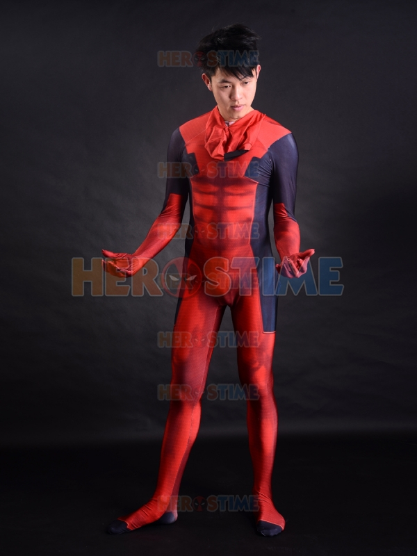 aliexpresscom buy 3d printing deadpool costume muscles shade morph suit hot sale halloween fullbody deadpool superhero costume free shipping from - Halloween Muscle