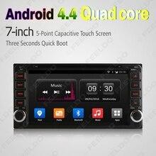 7″ Android 4.4.4 Core Car DVD GPS Radio For Toyota Universal 2DIN RAV4/Corolla/HILUX/Land Cruiser/Prado/Fortuner/Camry #FD-2428