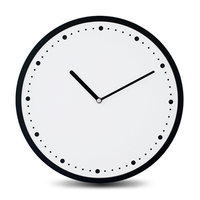 Pine Wooden Wall Clock Modern Design European Minimalist Exquisite Superior Artistic Circular Silently Clock For Cafe