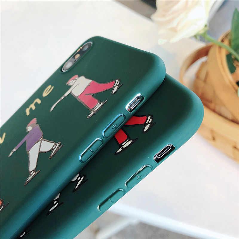 HYSOWENDLY フォローミーパターン電話ケース iphone × XR XS 最大リストバンドソフト TPU iphone 6 6s 7 8 プラス Fundas