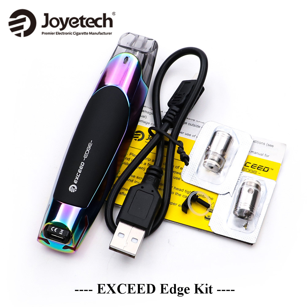 Joyetech EXCEED Edge Kit all-in-one vape pen kit 650mah built-in battery 1.2 ohm MTL head Robust and versatile pod mod female head teachers administrative challenges in schools in kenya