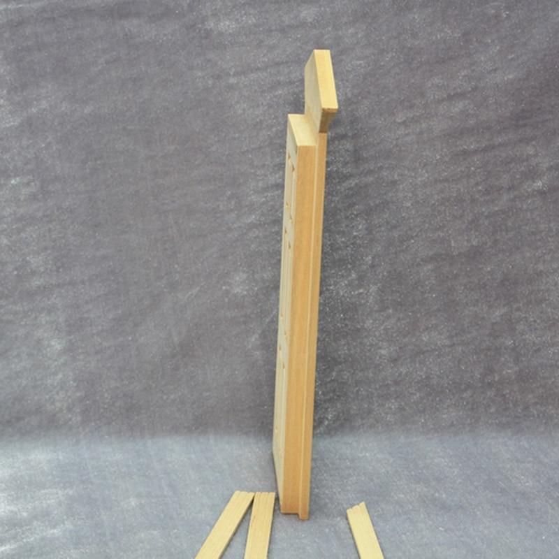 Escala 1/12 Dollhouse miniatura Muebles exterior puerta de madera de ...