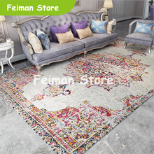 Soft Decorate House Persia Carpets For Living Room Bedroom Rugs Home Carpet Floor Door Mat Delicate Area Rugs Mats Large Carpet(China)