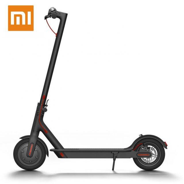 Xiaomi Mijia M365 Scooter pliable électrique intelligent ultraléger BMS Double système de freinage charge 100 kg 2 roues 30 km kilométrage Scooters