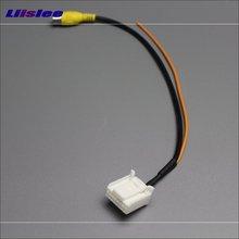 Para Kia K4 2015 ~ 2017 Cámara de Visión Trasera RCA Adaptador de Conector Convertidor de Cable Cable Original del Interruptor de Entrada