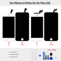 1PCS LCD Display and Touch Screen Panel for iphone 6 6g Display Touch Screen Digitizer Assembly No Dead Pixel Free Shipping