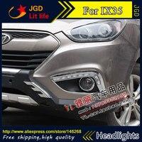 Hot Sale 12V 6000k LED DRL Daytime Running Light For Hyundai IX35 2009 2013 Fog Lamp