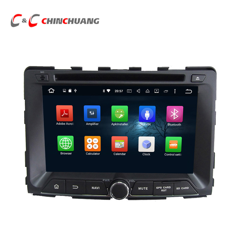2G RAM Octa Core Android 6 0 font b Car b font DVD Player for Ssangyong