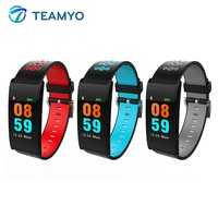 Teamyo Smart Watch Bracelet Waterproof Alarm Clock Sports Watch Blood Pressure Oxygen Heart Rate Monitor Bluetooth