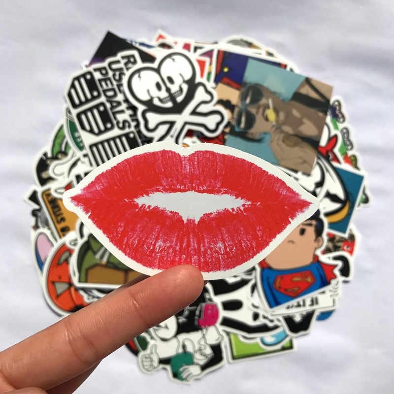 Anime Sticker Cartoon Marvel Sticker Classic Fashion Style Waterproof Motorcycle Car Laptop Stickers Classic Toys 100pcs/Lot
