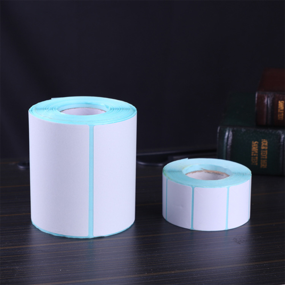 24 Size Barcode Label Adhesive Thermal Label Sticker Paper Supermarket Price Blank Label Direct Print Waterproof Print Supplies