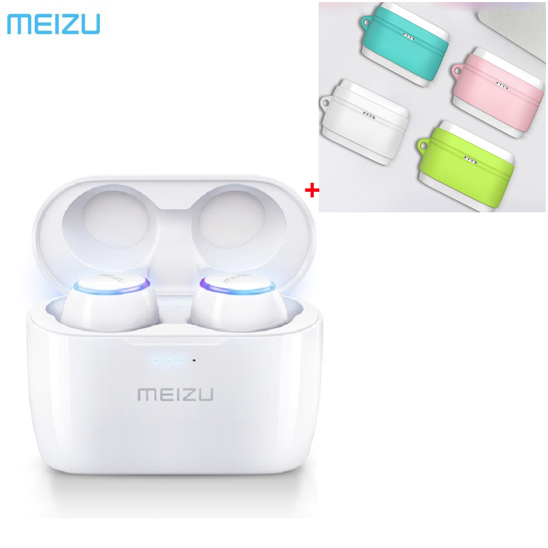 24Hours Ship Original Meizu POP TW50 True Wireless Bluetooth Earphone Mini TWS Sport Headset For Xiaomi