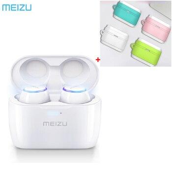 24Hours Ship Original Meizu POP TW50 True Wireless Bluetooth Earphone Mini TWS Sport Headset For Xiaomi iphone 7 8 Plus Samsung Bluetooth Earphones & Headphones