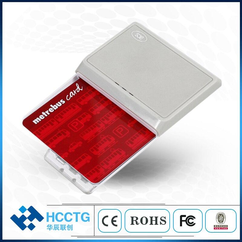 Android USB et Bluetooth carte à puce rfid Lecteur Avec batterie rechargeable-ACR3901