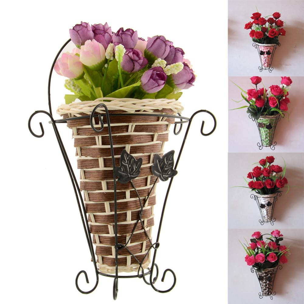 Artificial Flower Baskets Online : Wood hanging baskets reviews ping