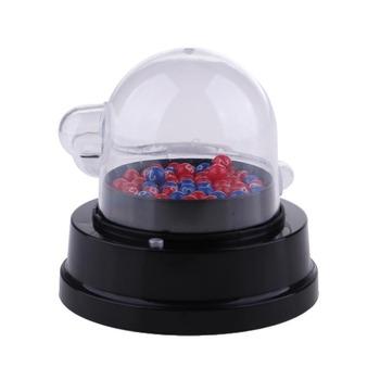 Elektryczna maszyna do zbierania Lucky Number loteria gry Bingo wstrząsnąć z kuleczkami na szczęście tanie i dobre opinie MagiDeal Electric Shake Lucy Ball Machine Lucky Number Ball Machine Electric Lucky Number Machine Lottery Bingo Games Shake Lucky Ball Machine