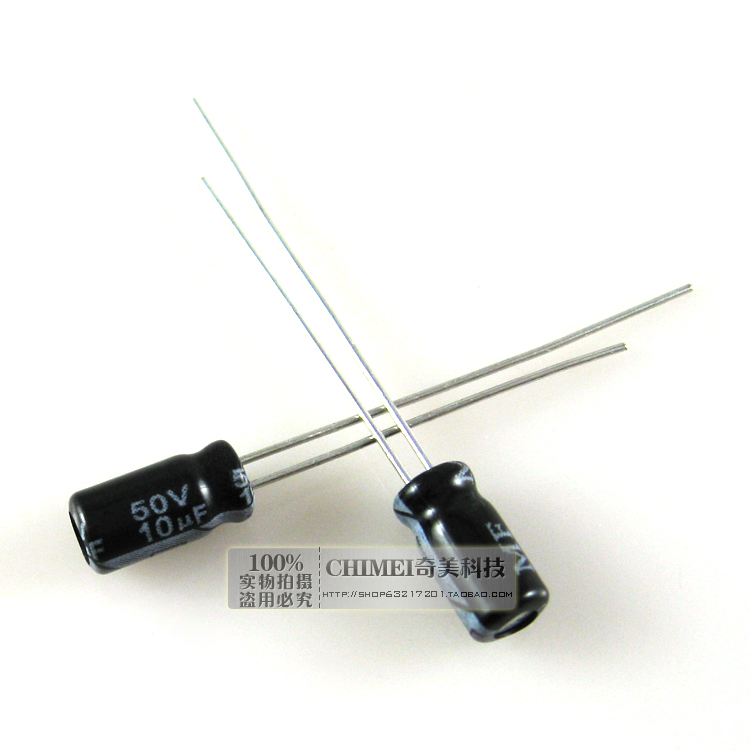 Electrolytic Capacitor 10UF 50V Capacitor