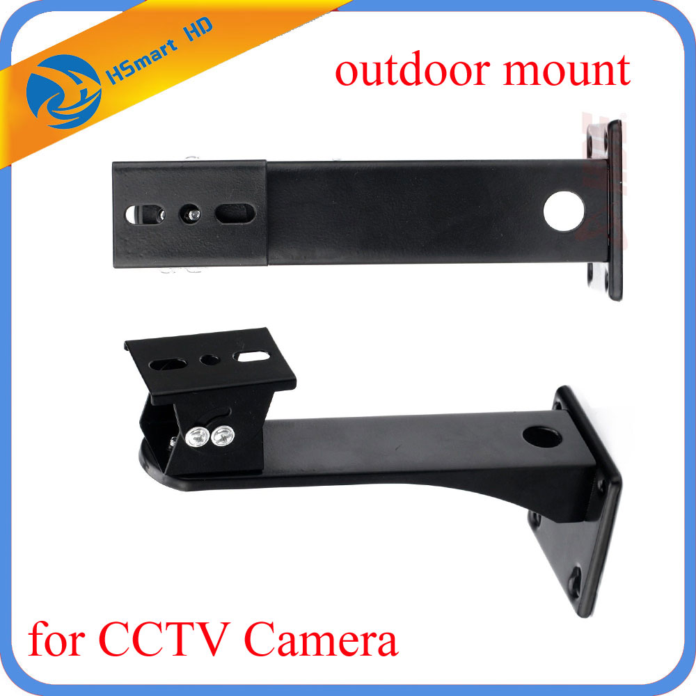 Metal Wall Mount Stand Bracket For outdoor mount IP CCTV Home Surveillance Security Camera hjt 360 degrees wall mount bracket metal stand for cctv dome camera security surveillance video accessories