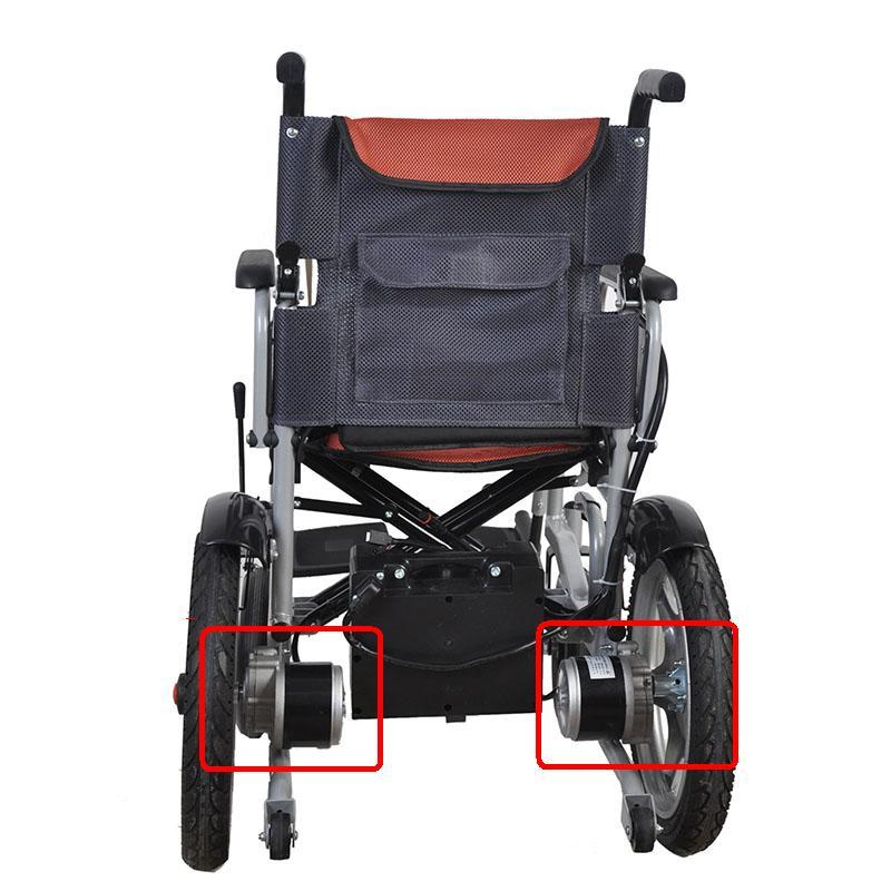 Kit de Conversion de vélo électrique MY1016Z2 24 V 250 W DC brosse engrenage moteur mi-moteur fauteuils roulants E vélo deux roues Balance Scooter