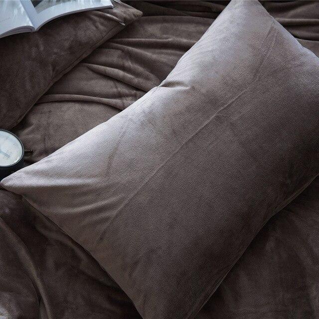 40PCSPair 40x40cm 40 Colors Soft Velvet Fabric Modern Simple Beauteous Envelope Style Pillow Cover