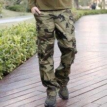 Military Cargo Pants (Multi-Pocket)
