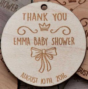 パーソナライズされたベビーシャワーを保存日付マグネット、木製保存日付、結婚式誕生日ベビーブライダルシャワーパーティーの好意ギフト