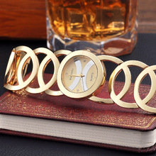 TOP Brand Luxury Gold Watch BAOSAILI Women Quartz Wrist Watch Ladies Full Steel Bracelet Dress Watch Circles Strap Reloj Mujer