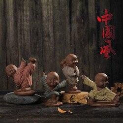 Piasek mnich Yixing ceramika dzieciak kreatywne wyposażenie domu ceramiczne rękodzieła