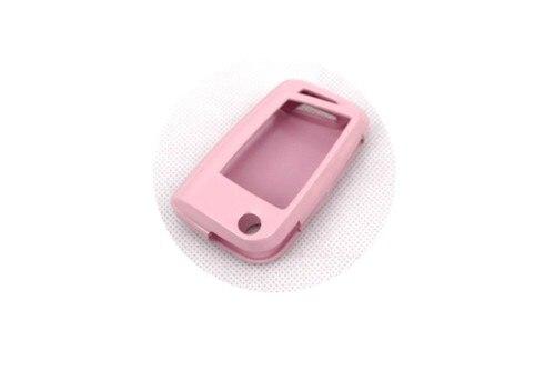 Жесткий Пластик без ключа дистанционного защиты Чехол(Gloss Розовый) для Фольксваген Гольф Mk7