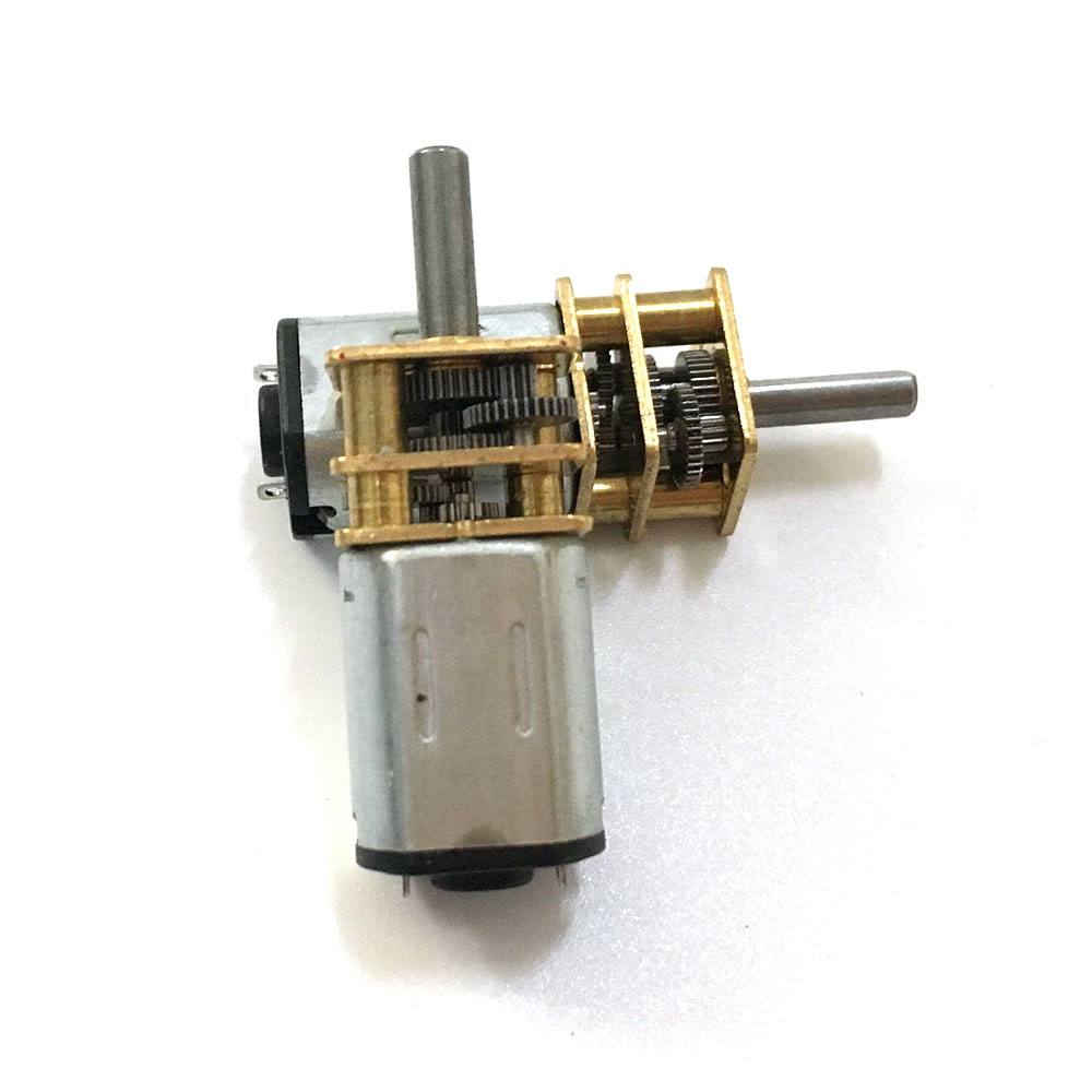 DC6V N20 Small Micro Geared Box Electric Motor 600RPM High Quality