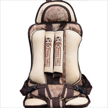 Children's Chairs Cushion For 6M~4Y Baby Travelling Protect Seat Mats Pad Quality Portable Infant Kids Sitting Cushions Booster(China)