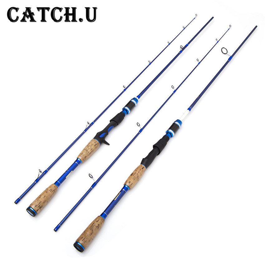 Catch.U Carbon Casting Spinning Fishing Rods Sea Fishing Rod Spinning Fishing Rod 2 Section