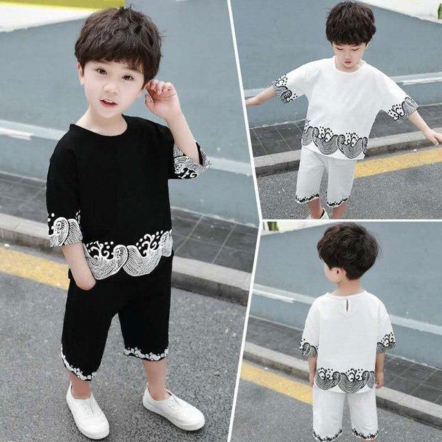f8f8eef3e4 Children S Sets Infant Kids Boys Clothes Children Clothing Sets Summer Baby  Boys Clothes Cute T
