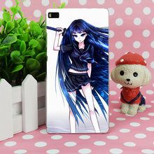 B3292 Samael Girl Art Hair Anime Sword Transparent Hard Thin Case Skin Cover For Huawei P 6 7 8 9 Lite Plus Honor 6 7 4C 4X G7(China)