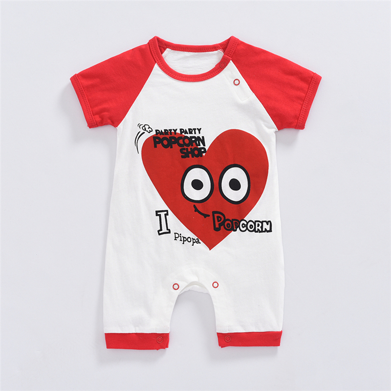 Baby Rompers Summer Baby Boy Clothes 2017 Baby Girl Clothing Sets Cartoon Newborn Baby Clothes Roupas Bebe Infant Jumpsuit newborn baby rompers baby clothing 100% cotton infant jumpsuit ropa bebe long sleeve girl boys rompers costumes baby romper