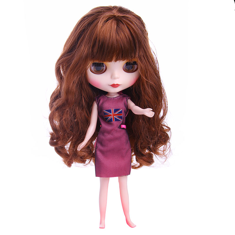 Fashion Dress For Blyth Doll Clothes Christmas Gift toy dress for BJD doll 16 30cm doll accessories