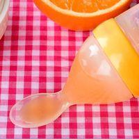 прекрасный ребенок младенческой рис крупы ложка бутыль силиконовые отъема ребенка посуда