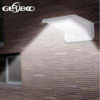 Solar Power Garden Security Lamp 20LED Outdoor Path Spot Light Solar Street Lighting PIR Motion Sensor+Sound Sensor+Light Sensor