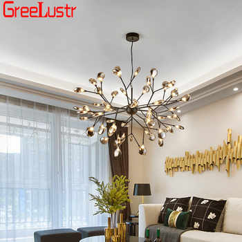 Nordic Design Firefly LED Chandelier Light Fixture G4 Tree Branch Hanging Lamp Dining Room Lustres Chandeliers Home Lighting - DISCOUNT ITEM  35% OFF All Category