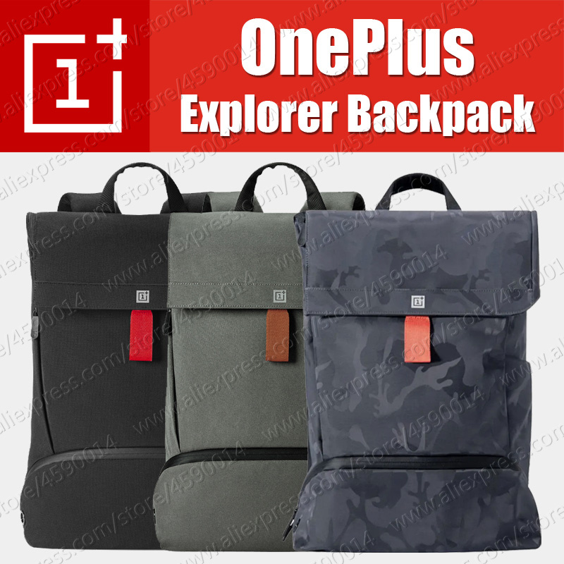 in stock Original OnePlus Explorer Backpack Smart and Simple Cordura Material Travel knapsack