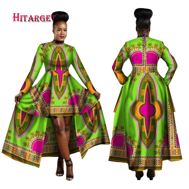 hitarget 2018 african dresses for women dashiki cotton wax