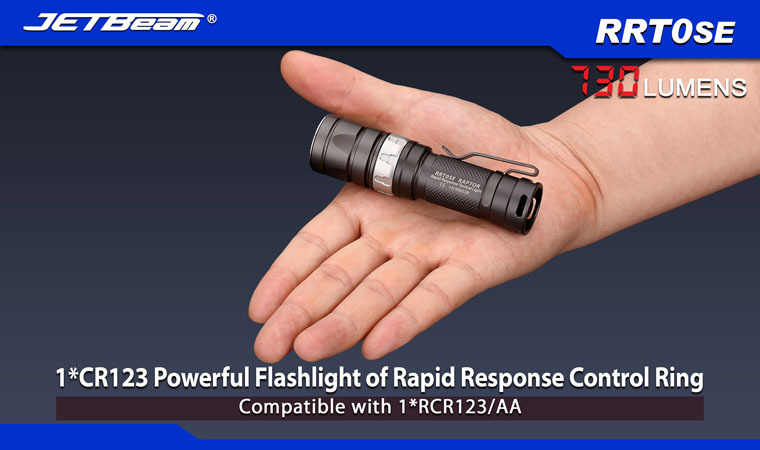 Free Shipping 2014 Original JETBEAM RRT0SE Cree XM-L2 LED 730 lumens flashlight daily torch Compatible with CR123A AA battery батарейка cr123a kodak ultra cr123a 3v bl1 1 штука