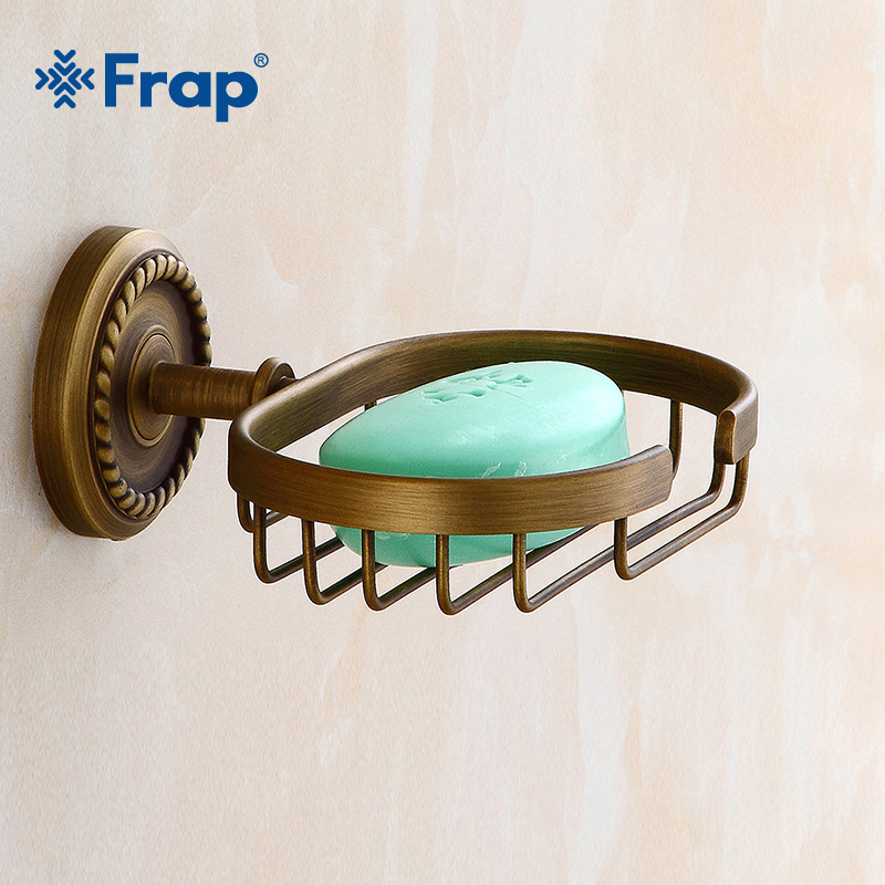 Frap New Soap Dishes Modern Antique Bronze Finish Brass Decorative Soap Basket Soap Dish Soap Holder Bathroom Accessories Y18014 chinese food dishes book delicious cold dishes tasty dish recipes daquan